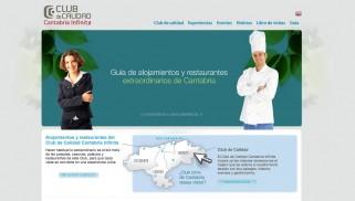 Nueva web del CdC Cantabria Infinita