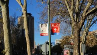 Moving tourism toma Madrid