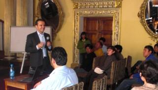 Finaliza el SCTE Buenas Prácticas en Bolivia